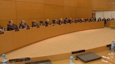 TJ-MS tem nova diretoria empossada em Campo Grande - O Tribunal de Justiça de Mato Grosso do Sul (TJ-MS) tem nova diretoria para os próximos dois anos. A posse dos eleitos foi na noite de sexta-feira (27).