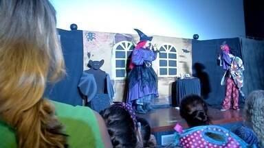 Teatro de graça é dica para tirar crianças de casa nas férias em Campo Grande - Teatro de graça é dica para tirar crianças de casa nas férias em Campo Grande