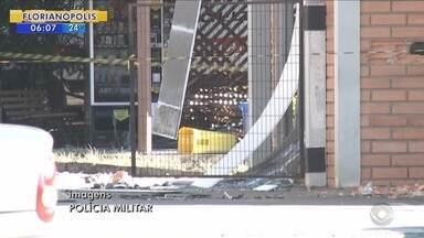 Polícia apreende explosivo após troca de tiros com bandidos em Joinville - Polícia apreende explosivo após troca de tiros com bandidos em Joinville