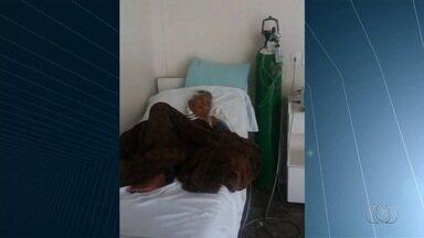 Família espera há uma semana por vaga de UTI para idosa, em Goiânia - Paciente, de 72 anos, está com a saúde mais debilitada a cada dia.