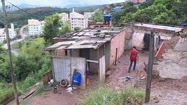 Urbel intensifica trabalho de prevenção em áreas de risco por causa da chuva - Moradores de vilas e aglomerados de Belo Horizonte estão em alerta.