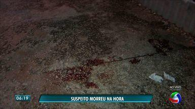 Suspeito morre ao tentar roubar carro em avenida de Cuiabá - Suspeito morre ao tentar roubar carro em avenida de Cuiabá.