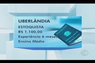 Confira as vagas disponíveis no Sine Uberlândia nesta quarta-feira - Salários variam de R$ 937 a R$ 1.863.