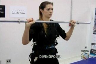 Curso em Divinópolis apresenta roupa que utiliza fibras musculares durante exercícios - Evento acontece na academia Fight Fitness.