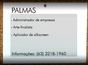 Veja as vagas de emprego para Porto Nacional, Palmas e Gurupi - Veja as vagas de emprego para Porto Nacional, Palmas e Gurupi
