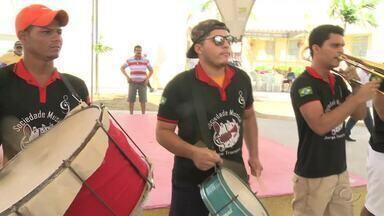 Orquestras de frevo ensaiam para festas carnavalescas em Traipu - Maestro Jorge Trompete fala sobre o assunto.