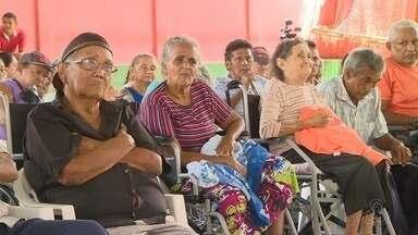 Vítimas de hanseníase que foram isoladas em bairro de Manaus tentam receber pensão - Eles têm direito à pensão do Governo Federal.