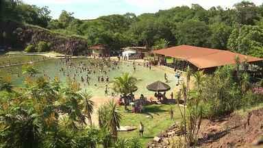 Quadro De Folga na Região mostra opções de turismo na região de Maringá - Entre as opções de lazer tem um parque às margens do Rio Bandeirantes. A entrada custa R$ 35,00.