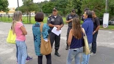 Apesar de manifestação, movimento dos policiais é normal em Nova Friburgo, no RJ - Policiais estão trabalhando normalmente.