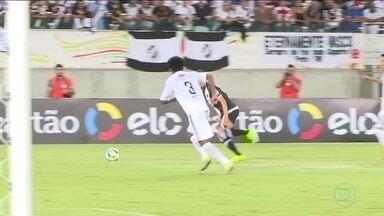 Vasco vence o Santos do Amapá e avança na Copa do Brasil - Vasco venceu o Santos-AP por 2 a 0.
