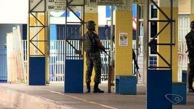 Porta-voz da força tarefa diz que caminho é negociação e reforça patrulhamento no ES - O exército continua com patrulhamento em terminais.
