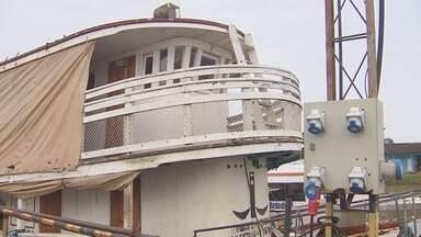 Sem condições para arcar despesas, Ueap leiloará barco doado para a universidade - O porto acumula um prejuízo de mais de 40 mil reais por alugueis não pagos pela universidade.