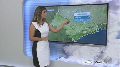 Confira a previsão do tempo para este sábado (11) em Ribeirão Preto e região - Clima deve permanecer estável durante o fim de semana.