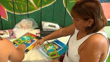 Projeto distribui material escolar para crianças no RS; saiba como ajudar - Ação atende pelo menos 800 alunos de quatro escolas de Porto Alegre.