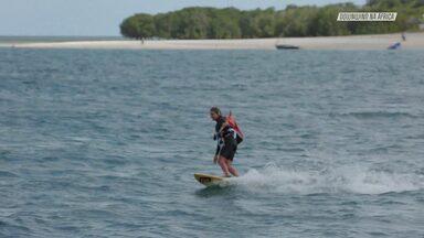 De Fanjova Para A Ilha De Zanzibar