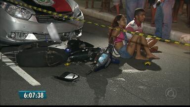 Casal é preso após bater em carro da polícia durante perseguição na PB - Caso aconteceu em João Pessoa.