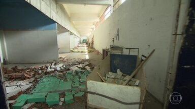 Conselheiros penitenciários fazem vistoria nas obras do BEP - A antiga prisão vai receber presos da operação Lava Jato