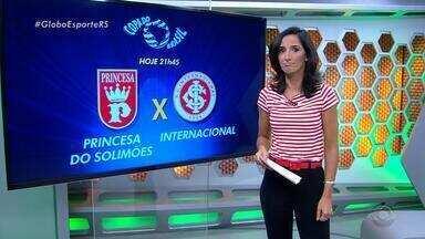 Globo Esporte RS - Bloco 1 - 15/02 - Assista ao vídeo.
