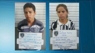 Casal é preso suspeito de espancar bebê em Campina Grande - Vítima tem apenas oito meses