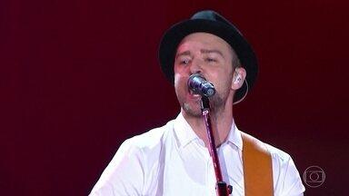 Mais quatro atrações para o Rock in Rio são confirmadas - O astro americano Justin Timberlake vai encerrar a noite do dia 17 de setembro. No mesmo dia, o cantor Frejat abre o Palco Mundo. A organização também anunciou a banda Skank para o dia 16. O grupo de rock alternativo Alter Bridge toca no dia 22.