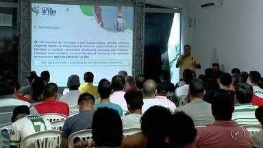 Confira como vai funcionar a Copa TV TEM de Futsal - Em março, começa a Copa TV TEM de Futsal. As equipes já ficaram sabendo como vai funcionar a competição deste ano. Confira.
