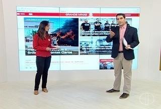 Incêndio criminoso em dois ônibus de Montes Claros é destaque do G1 Grande Minas - Frota funciona reduzida na manhã desta sexta-feira (17).