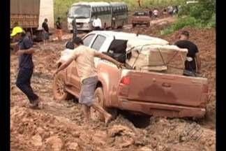 Rodovia Transamazônica causa prejuízos para condutores no Pará - DNIT informou que tem equipes tentando manter as condições de tráfego.