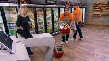 Bruno e Jane vão fazer três tipos de picanha na final do 'Fecha a Conta' - Participantes fazem as compras para preparar três pratos completos com picanha, acompanhamento e molho