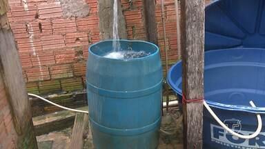 Moradores de bairros centrais continuam sofrendo com a falta d'água em Santarém - Problema se arrasta há alguns dias e o resultado são os inúmeros transtornos que as famílias estão tendo para contornar os problemas no dia a dia.
