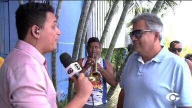 Carnaval do Bicentenário de Alagoas anima foliões na Orla de Maceió - Evento acontece no sábado (18).
