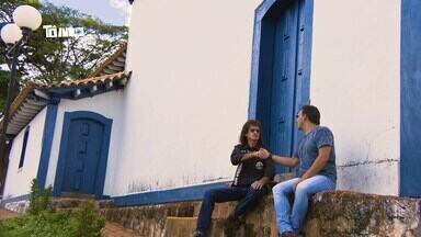 Reveja: Mário conhece Amado Apaixonado em Rio do Paranaíba - Artista conta que ele mesmo escolheu o nome artístico