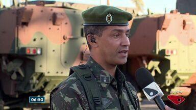 Tenente Coronel explica como será a atuação das Forças Armadas no carnaval do ES - Forças Armadas e Nacional continuam no estado nos dias de folia.