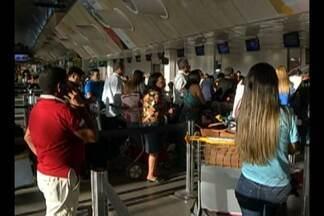 Problema na pista principal do aeroporto internacional de Belém atrasa e cancela voos - Pista passou por manutenção asfáltica