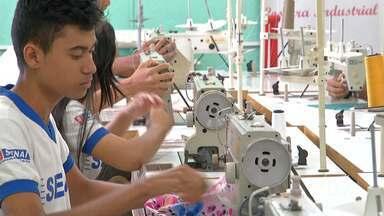 Palestras sobre estratégias e inovações no mercado da moda são realizadas em Santarém - Evento promovido pelo Sebrae em parceria com o Senai buscou fortalecer e desenvolver o segmento da moda na região oeste do Pará.