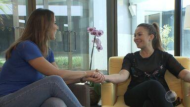 Solange Almeida se apresenta pela última vez com o Aviões do Forró em Salvador - Confira entrevista exclusiva com a cantora.