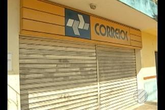 Grupo tenta assaltar agência dos correios em Santa Bárbara - Agência havia sido alvo de assaltantes no ano de 2015.