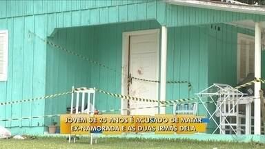 Irmãs de 12, 15 e 23 anos são mortas a facadas em casa - Irmãs de 12, 15 e 23 anos são mortas a facadas em casa