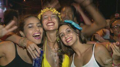 Última noite de carnaval tem bloco Berra Vaca no Distrito de Barão Geraldo - O bloco desfilou durante toda a madrugada dessa quarta-feira (1°).
