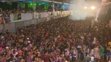 Cinco blocos animaram o público no último dia de carnaval em Santana, no Amapá - Micareta agita público com repertória eclético.