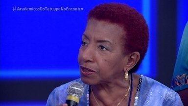 Leci Brandão fala da emoção no desfile da Acadêmicos do Tatuapé - Escola foi a campeã do Carnaval de São Paulo depois de apenas cinco anos no Grupo Especial
