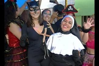 Em Abaetetuba, cerca de 30 mil pessoas foram às ruas brincar o carnaval - Energia e irreverência não faltaram aos foliões.