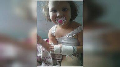 Menina de 5 anos precisa de plaquetas para tratamento contra câncer - Doações podem ser feitas na Fhemeron.