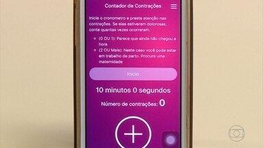 UFMG desenvolve aplicativo de celular que auxilia no pré-natal - Nele, a gestante fica sabendo, por exemplo, a data provável do parto e até se é preciso procurar um serviço médico de urgência.