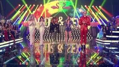 Drags cantoras participam do concurso Bishow 2017 - Confira quem foi a grande vencedora