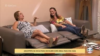 Arquiteta dá dicas para escolher o sofá ideal para sua casa - Elaine Gonzalez mostra vários estilos de sofás e fala das características de cada um