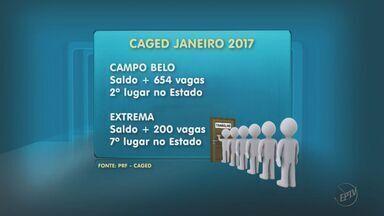 Campo Belo e Extrema tem saldo positivo de empregos segundo dados do Caged - Campo Belo e Extrema tem saldo positivo de empregos segundo dados do Caged