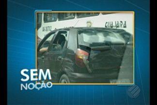 Carro é flagrado com passageiro no porta malas em Belém - Flagrante foi registrado na avenida Alcindo Cacela.