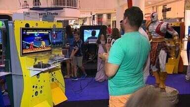 Exposição reúne diversos games em Aracaju - Exposição reúne diversos games em Aracaju.