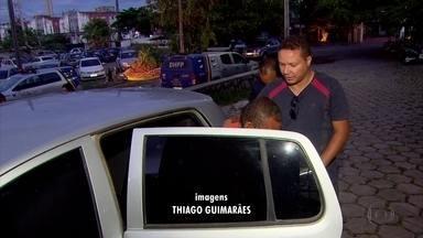 Homem é preso sob suspeita de matar a amante no Cabo de Santo Agostinho, no Grande Recife - Ele foi levado para o DHPP, no Recife, e confessou que mantinha relacionamento amoroso com a vítima
