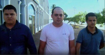 Trio do RN é preso por suspeita de tentar aplicar golpe em banco de Maceió - Sistema de segurança do banco acionou a polícia.